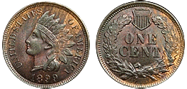 indian cent 1859-1909