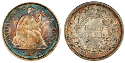 liberty seated dime 1837-1891