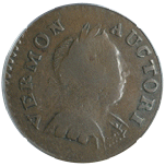 1788 Vermont Copper Ryder 16 front