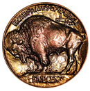 buffalo nickel 1913-1938 back