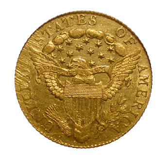 1804 Quarter Eagle back