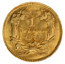 gold dollars 1849-1889 back