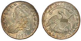 capped bust half dollar 1807-1839