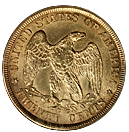 twenty cent 1875-1878 back